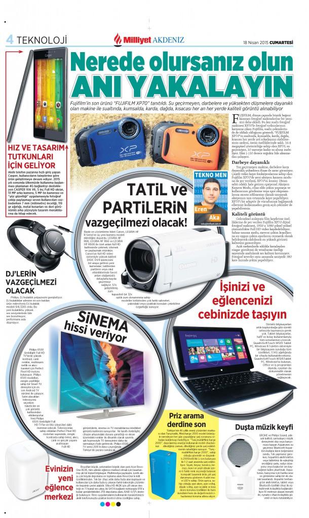 Eren AKA Milliyet Gazetesi